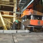 1000-ton Savage Flattening Press
