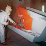 Downdraft Spray Booth